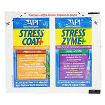 Acond. Peces Stress Coat Y Stress Zyme Sobre