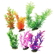 Tb Accesorio P/ Pecera Aquarium Plastic Plant Decoration