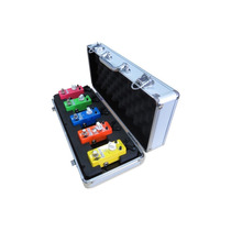 Estuche Para 5 Mini Pedales Xvive F1 Flight Case