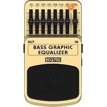 Pedal Behringer Bass Graphic Equalizer Beq700 Nuevo!