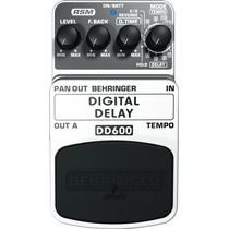 Pedal Efecto Digital Delay Behringer Dd600 Envio Inmediato