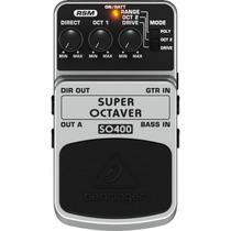 Pedal Behringer Super Octaver So400