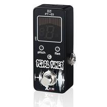 Mini Pedal Xvive Pt-03 Afinador Cromatico Compacto