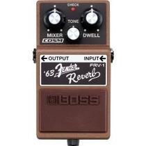 Pedal Efecto Boss Fender Reverb Mod Frv-1