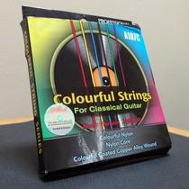 Cuerdas De Color Para Guitarra (nylon) | Envío Incluido