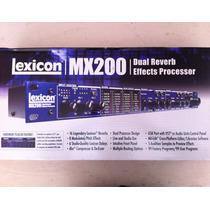 Procesador De Efectos Lexicon Mx 200 Nuevo
