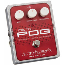 Electro Harmonix Micro Pog Octavador Polifonico Envío Gratis