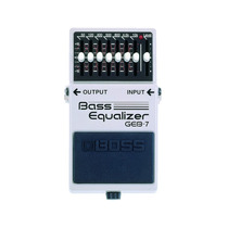 Boss Geb-7 Pedal Bass Equalizer, Ideal Para Bajo.