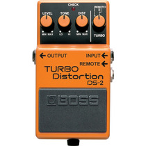 Boss Ds-2 Pedal Turbodistortion Para Guitarra