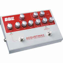 Bbe Sound Acoustimax Pedal