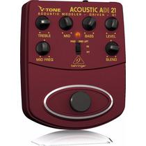 Pedales Para Guitarra Behringer V-tone Acoustic Driveradi21