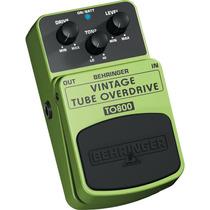 Pedal Guitarra Behringer To800 Overdrive Screamer Tube Muff