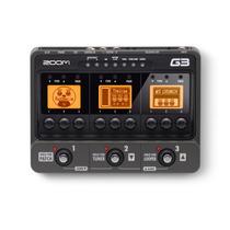 Pedalera Zoom G3 / Emulación De Amplificadores Y Salida Usb