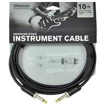 Planet Waves Guitar Etapa Americana Y Instrumento Cable, 10