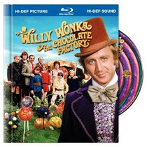 Willy Wonka And The Chocolate Factory Blu-ray Version 1971