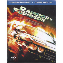 Box Set Pentalogía Rápidos Y Furiosos En Blu-ray