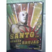 Dvd Santo Vs Las Brujas Lucha Libre El Santo