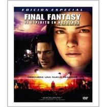 Final Fantasy , El Espiritu En Nosotros , Pelicula Dvd