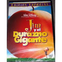 Dvd Jim Y El Durazno Gigante