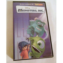 Monsters, Inc. Disney Vhs, En Español
