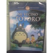 Dvd Mi Vecino Totoro Ghibli Anime Caricaturas