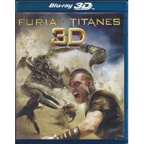 Furia De Titanes En Blu-ray 3d