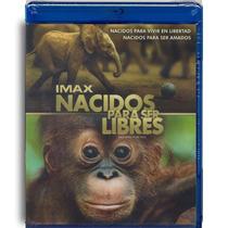 Imax Nacidos Para Ser Libres Pelicula Blu-ray