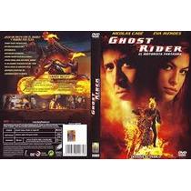 Ghost Rider Pelicula Envió Gratis Dvd Seminuevo