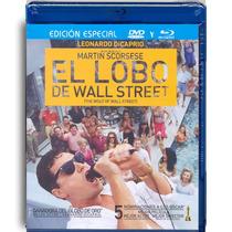 El Lobo De Wall Street La Pelicula Combo En Blu-ray + Dvd