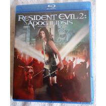 Resident Evil: 2, Dos. Apocalipsis Película En Blu-ray