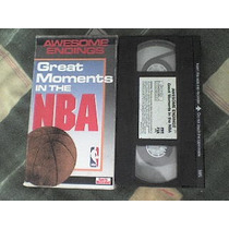 Documental Vhs Great Moments In The Nba