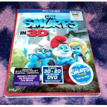 Los Pitufos 3d - Blu Ray 3d + 2d C/slipcover Lenticular