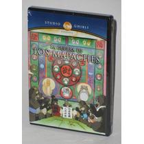 La Guerra De Los Mapaches Studio Ghibli Dvd Original Op4