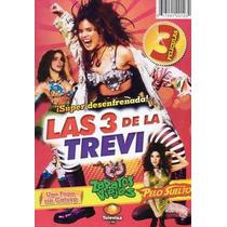 Gloria Trevi Peliculas 3 En 1 Dvd Original Pelo Zapatos Papa