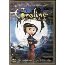 Coraline Dvd La Puerta Secreta