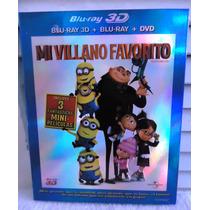 Blu-ray De La Película Mi Villano Favorito En 3d
