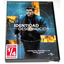 Dvd Identidad Desconocida / The Bourne Identity (2002) Css