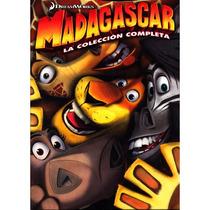 Magadascar, Trilogia, 1, 2, 3, Box Set, Cine Animacion, Dvd