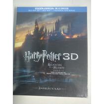 Harry Potter Y Las Reliquias De La Muerte 1 Y 2 En 3d