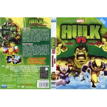 Dvd Anime Comic Hulk Vs Thor Vs Wolverine Ninos Infantil