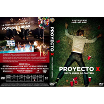 Pelicula Dvd Fiesta Proyecto X Project Que Paso Ayer? Comica