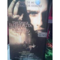 Vhs Vampiros Entrevista Con El Vampiro Terror