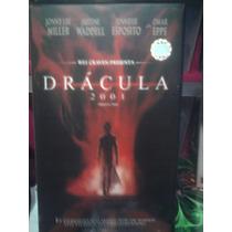 Vhs Dracula 2001 Terror Vampiros Video Visa