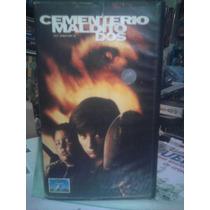 Vhs Cementerio Maldito 2 Stephen King Zombies Terror