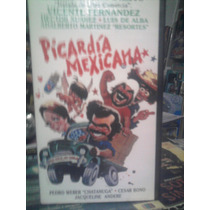 Vhs Picardia Mexicana 1 Video Visa Drama Mexicana Comedia