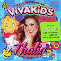 Thalia Viva Kids . Pelicula Musical En Dvd + Cd