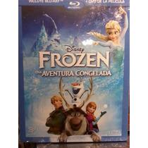 Frozen Una Aventura Congelada ( Bluray + Dvd ) Nuevo