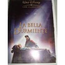 6 Princesas Disney En Dvd Incluye La Bella Durmiente Sirenit