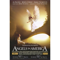Angeles En America Dvd Seminuevo Excelente Estado