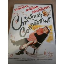 Barbara Stanwyck Cena De Navidad Christmas In Connecticut 45